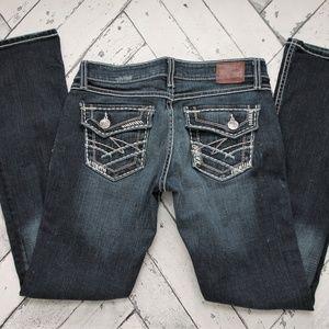 BKE Buckle Sabrina Boot Cut Jeans